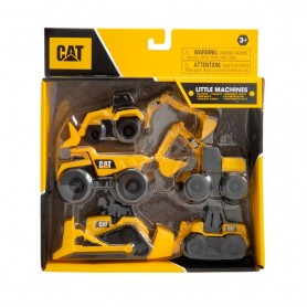 Little CAT Machines (5er Pack)