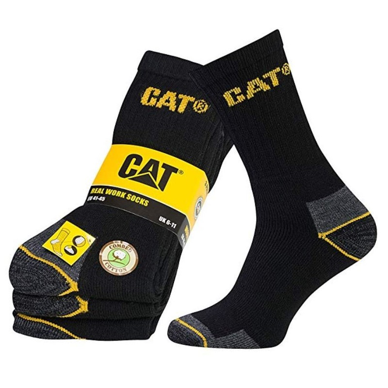 Real Work CAT Socks 3er Pack