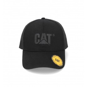 CAT Raised Logo Mesh Cap