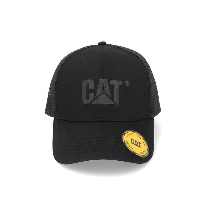 CAT Raised Logo Mesh Cap