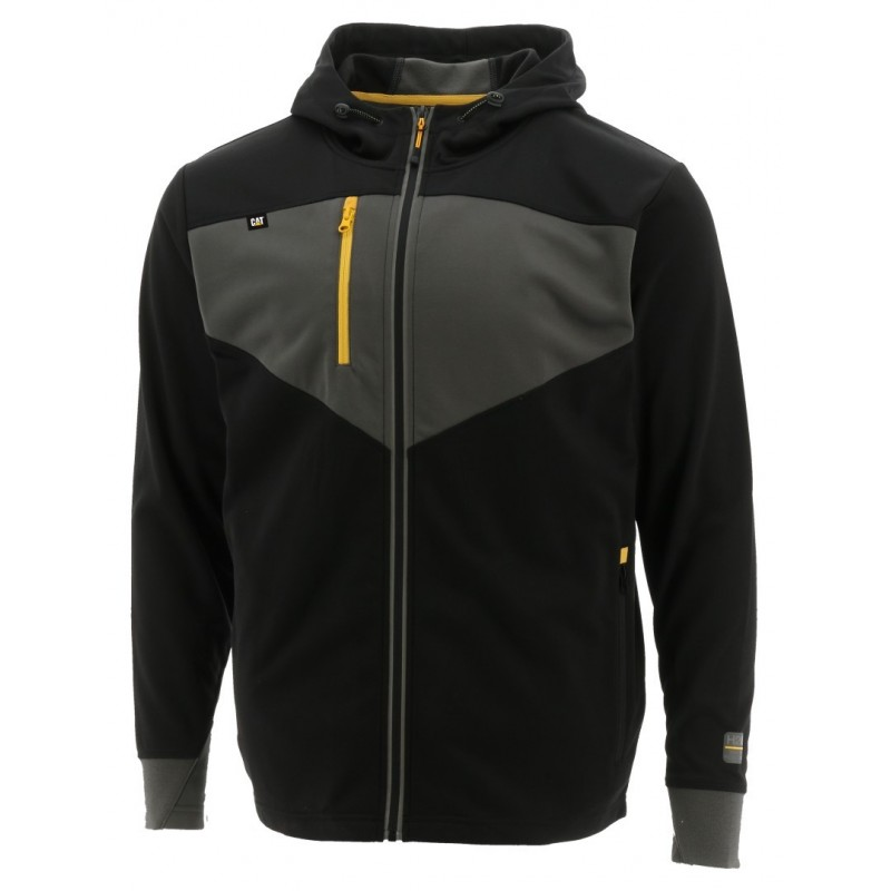 CAT TRITON Fleecejacke black