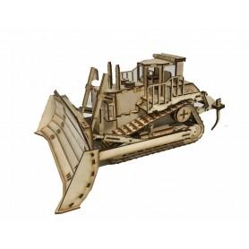 CAT Dozer 3D Großmodell