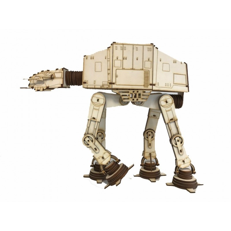 STARWARS AT-AT Walkerl 3D RIESENBAUSATZ